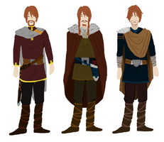 Elias Outfits by VikingMera
