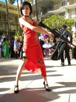 Ada Wong: Woman in Red by Xxfruit-cakexX