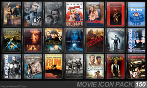 Movie Icon Pack 150 by FirstLine1