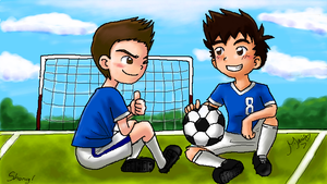 P-Chat: Soccer field by MarioRoz