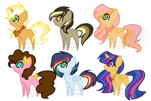 Shipping Adoptables - CLOSED! by yazmen10