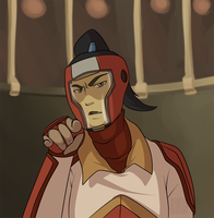 Legend of Korra - Got My Eye On You Punk! by lledra