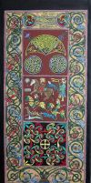 Colouring the Hilton Of Cadboll pictish stone by nikeyvv