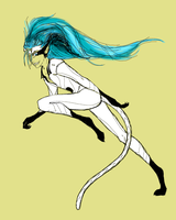 Grimmjow by Grimmjou