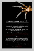 HORROR LEGENDS CONTEST by MsGothje