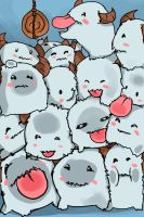 Poro Iphone 4 screen saver by Hamzilla15