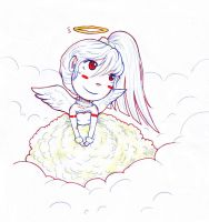 Cloudy Angel by Odire-san