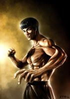 Bruce Lee by JoseManuelSerrano