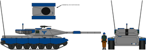 Allied Tank Concept by IgorKutuzov