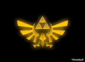 the Triforce by portadorX