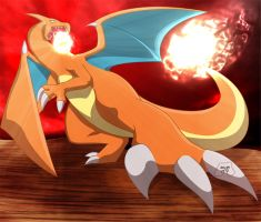 06-Charizard-Enraged F.Thrower by MagikPantz