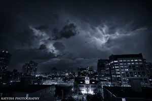 Stormy Eve by Ironwi11