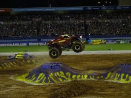 Monster Jam Adelaide 2014: Iron Man 05 by lizardman22