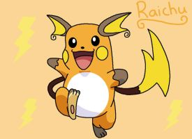 Raichu by anthey925