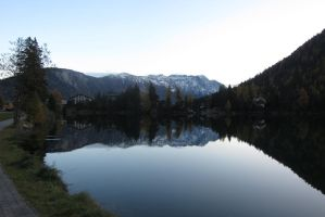 Swiss Mirror lake by elodie50a
