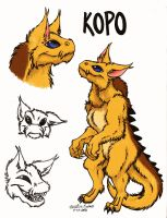 Kopo Reference Sheet by CrazyRabidPony