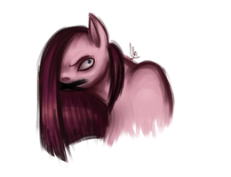 Crooked Pinkamena by CloudBrownie
