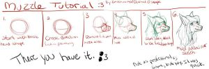Muzzle Tutorial by Emothivamp-Art