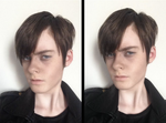 Harry Osborn cosplay makeup test by CrystaltheEchidna01