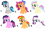 Mlp fim: shipping adoptable(OPEN) draw to adopt by cottoncloudyfilly