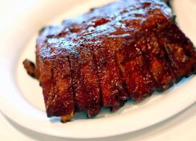Baby Back BBQ Ribs by lilkoda16