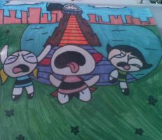 If the RRB kissed the PPG... by Brashgirl901