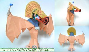 Wind Waker Wizzrobe Papercraft by squeezycheesecake