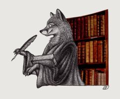 The Scholar by Skia