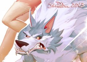 Cats and Dogs - Felicia and Talbain - CROP2 by NorseChowder