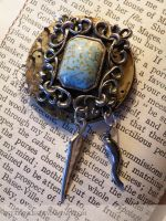 Turquoise Pendant by StaticSkies