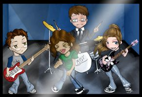 EFE Creators The Band by SpiffyMai