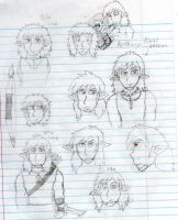 Anthony Hair style doodles by david-dent-jedai