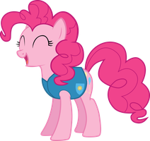 Winter Wrap Up - Pinkie Pie by Lexuzieel