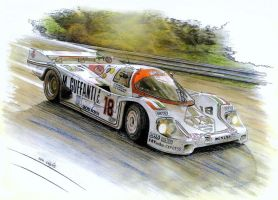 Porsche 956B by Leotrek