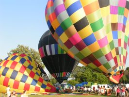balloon fest b by ItsAllStock
