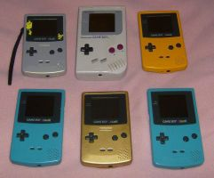 Gameboy Collection by Jyxxie