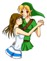 Request-Stephie and BEN DROWNED by SiMpLiCiTy1010