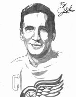 Ted Lindsay by NewEraUsher