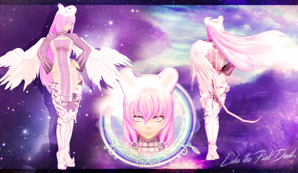 [MMD] Luka the Pink Devil - DL by MaiMami