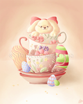 Teacup Bunny by parochena