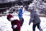 Snow Fight in Texas by Kinoi666