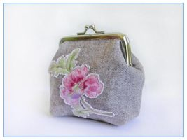Rose Heath purse by restlesswillow