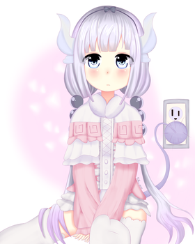 kanna kamui(kobayashi chi no maid dragon) by rkartworks