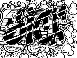 Graffiti Sick by BryanChalas