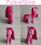 Pinkamena Custom: Crazy Pinkie 3 by alltheApples