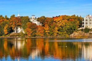 Autumn in Helsinki by Rustmouth