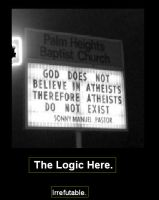 Demotivational Poster:Logic. by UsedSyringe