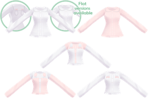 [MMD]Bunny Shirts[+DL] by Amy-ChanNyah