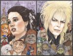 Jareth and Sarah Labyrinth by ChrisOzFulton
