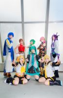 vocaloid 2 family by Godling-Studio